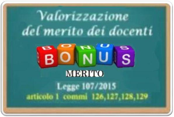 Bonus Premiale Docenti